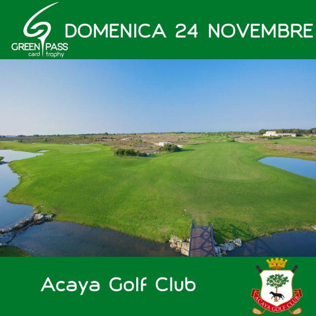 Acaya Golf Club Calendario Gare.Cerca Gara O Evento Green Pass Golf