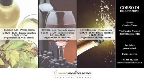 A novembre scopri di più sul mondo dei vini